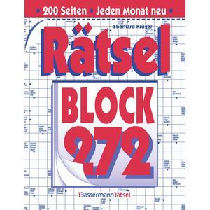 Rätselblock 272 (5 Exemplare à 2,99 €)