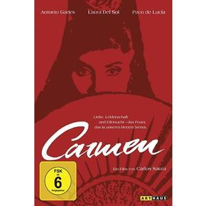 Musik-CD Carmen / Del Sol,Laura/Gades,Antonio/de Lucia,Paco, (1 DVD-Video Album)