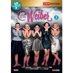 Drassl,Gerti/Proll,Nina/Ebm,Martina/Köstl - Vorstadtweiber: Staffel 3 - 3 DVD