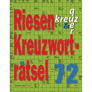 Riesen-Kreuzworträtsel 72
