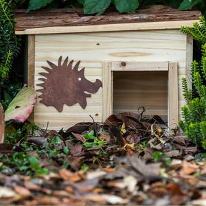 Igelhaus aus Holz | winterfest | nachhaltig | 1 Stück
