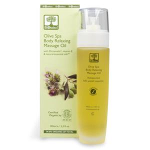 BIO-zertifiziert - Oliven SPA entspannendes Körpermassageöl 100ml