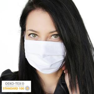 Wiederverwendbare Mund-Nasen-Maske aus 100% Baumwolle | OEKOTEX zertifiziert | waschbar bei 60°