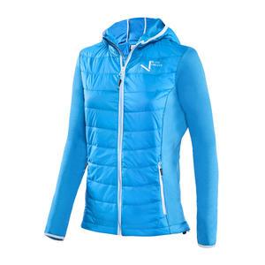Damen Hybridjacke - Multifunktionelle Jacke - Wandern/Skitour   Blau   Gr. 36