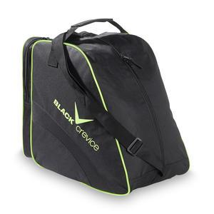 Ski- & Snowboardboot Bag - Skischuhtasche | Farbe: Schwarz/Gelb | Maße: 45 x 39 x 25 cm