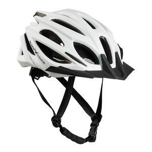 Damen/Herren MTB- & Fahrradhelm - RTF Verstellsystem   Farbe: Weiß   Größe: S/M (54-58 cm)
