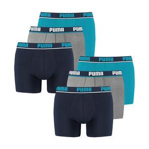 PUMA - Herren Boxer - Boxershort - Herren Unterwäsche - 6er Pack - Blue   Größe L