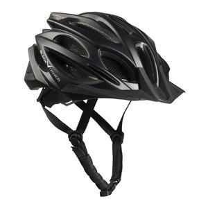 Damen/Herren MTB- & Fahrradhelm - RTF Verstellsystem   Farbe: Schwarz   Größe: M/L (58-61 cm)