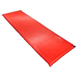 BLACK CREVICE - selbstaufblasende Unterlagsmatte/Isomatte | Farbe: Rot | Größe: 200 x 66 x 5 cm