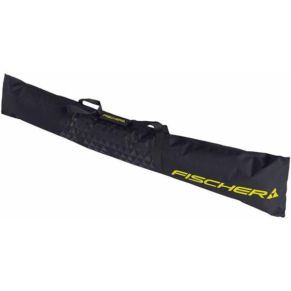 ECO Alpine - Skitasche Skibag Skisack Skicase | Farbe: Schwarz/Gelbe | Länge: 190 cm