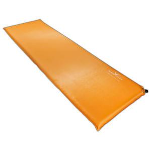 BLACK CREVICE - selbstaufblasende Unterlagsmatte/Isomatte | Farbe: Orange | Größe: 200 x 66 x 7 cm