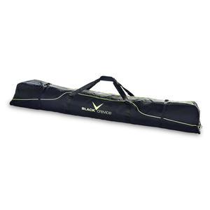 Skitasche/Skicase/Skibag für 3 Paar Skier bis 190 cm | Farbe: Schwarz/Gelb
