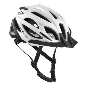 Damen/Herren MTB- & Fahrradhelm - RTF Verstellsystem | Farbe: Weiß/Schwarz | Größe: XS/S (50-54 cm)