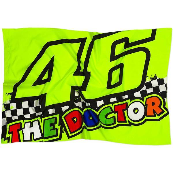 46 - THE DOCTOR - Fan Flagge - 140 x 90 cm