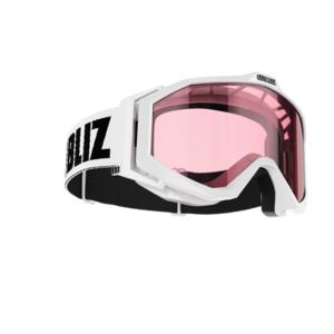 Damen Skibrille für Brillenträger OTG - EDGE SR MARK 6 | Farbe: White | Scheibe: Pink