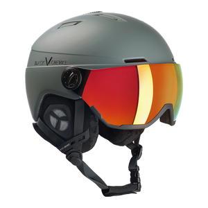 Ski-/Snowboardhelm mit Visier - CALGARY | Farbe: Gunmetal | Größe: S/M (54-57 cm)