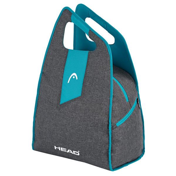 Damen Skibootbag/Skischuhtasche | Größe: 38 x 62 x 25 cm | Farbe: Antrazit/Blau