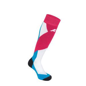 ALL AROUND - Damen/Kinder Skisocken - Merinowolle - 1 Paar | Farbe: Pink | Größe: S (35-38)