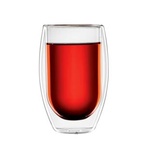bloomix Teeglas Tetouan 2er-Set - doppelwandiges Teeglas 400ml