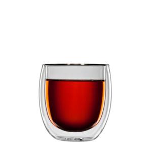 bloomix Teeglas Tanger 2er-Set - doppelwandige Teegläser 300ml
