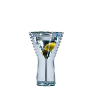 bloomix blooMartini - doppelwandige Martinigläser 200ml (Einzelglas)