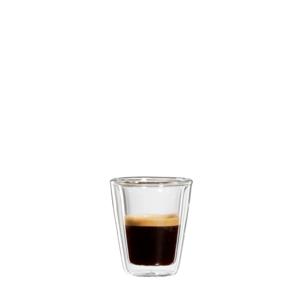 bloomix Milano Espresso 2er-Set - doppelwandige Espressotassen 80ml