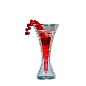 bloomix blooKirRoyal - doppelwandiges Cocktailglas 240ml (Einzelglas)