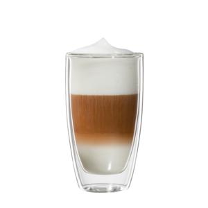 bloomix Roma Latte Macchiato 2er-Set - doppelwandige Latte Macchiato Gläser 300ml