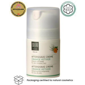 Aftershave Creme Orange Vetiver