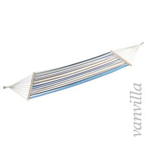 vanvilla Hängematte LaGaspara Blau-gestreift / 140x200cm