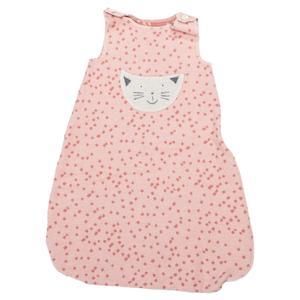 Schlafsack aus Baumwolle von David Fussenegger Schlafsack Katze-bis 1 Jahr -14 Rosa