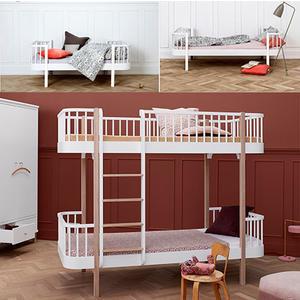 Wood Collection Umbauset Umbauset Einzel- Juniorbett zum Etagenbett