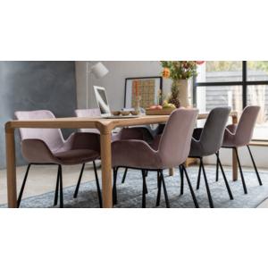 Mit diesem Designer Esstisch aus Eichenholz von Zuiver wir ihr Esszimmer garantiert