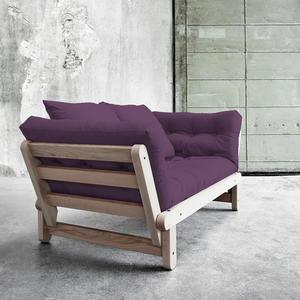 Sofa/Tagesbett Karup 1111100102-753 purple plum lonetta-White