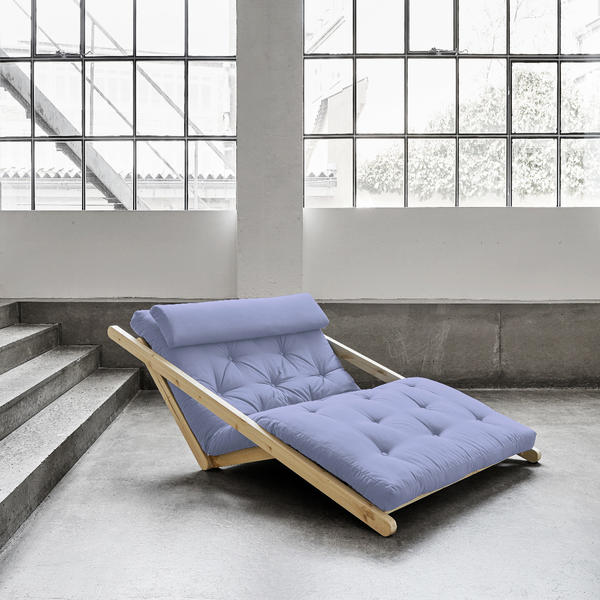 Figo Sofa von Karup KARUP_014-Rahmen wenge-751 blue breeze Lonetta