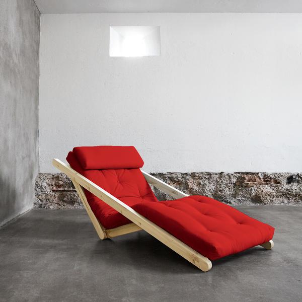 Figo von Karup KARUP_013-Rahmen natur-711 red Lonetta