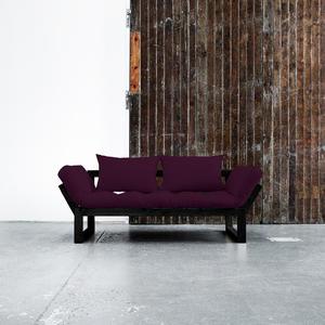 Edge von Karup KARUP_011-Rahmen schwarz-753 purple plum lonetta