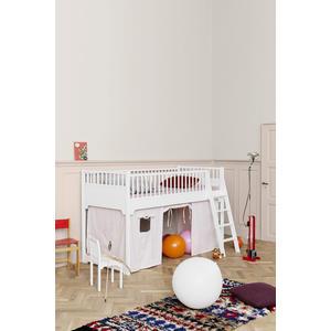 Halbhohes Hochbett aus der Seaside Collection von Oliver Furniture in weiß