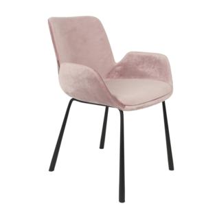 """Designer Stuhl Brit von Zuiver Stuhl """"Brit""""-pink"""