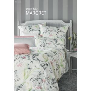 "Mako-Satin / Mako-Interlock-Jersey Bettwäsche ""Margret""-Set 155/220 & 70/90"