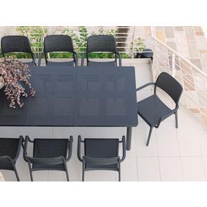 Nardi Tisch Levante-antracite/ vern. antracite