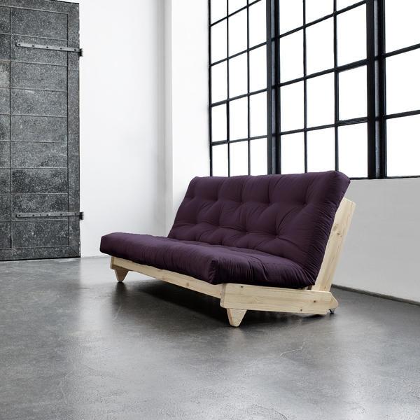Fresh Sofa-Rahmen weiss-736 purple Lonetta