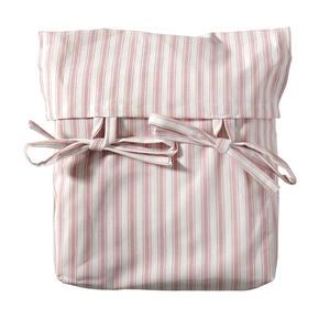 Vorhang für Seaside halbhohes Hochbett/Etagenbett Oliver´s Vorhang rosa Streifen