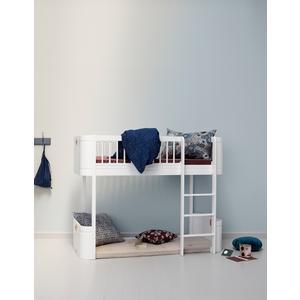 Halbhochbett Mini+ aus der Wood Collection von Oliver Furniture in weiß