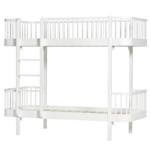 Wood Collection Umbauset Umbauset Halbhohes Hochbett zum Etagenbett, weiß