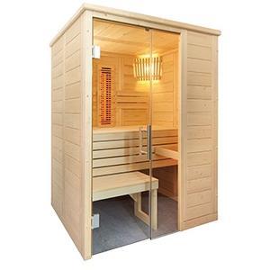 Saunakabine Domo Sauna Alaska Mini Infra+ 160x110x204cm