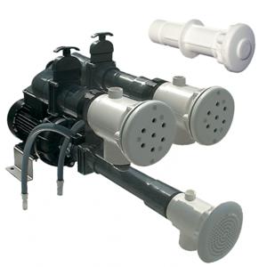 Neptun Fertigmontagesatz für Massagestation ABS 2kW/230V