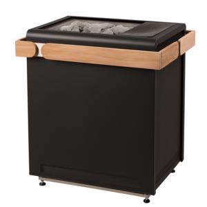 Saunaofen Concept R 9 KW - der Designer Ofen ohne Holzreling