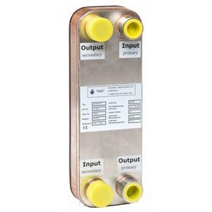 Plattenwärmetauscher aus V4A, D-PWT 30
