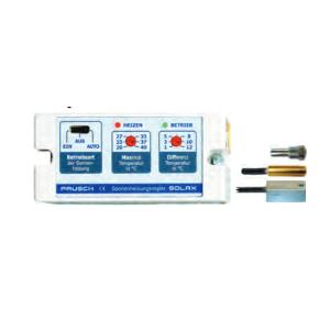 Solarregler 230V SOLAX -Modul m. Fühler u. Tauchhülse